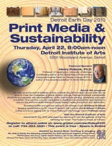Detroit Earth Day Promotion