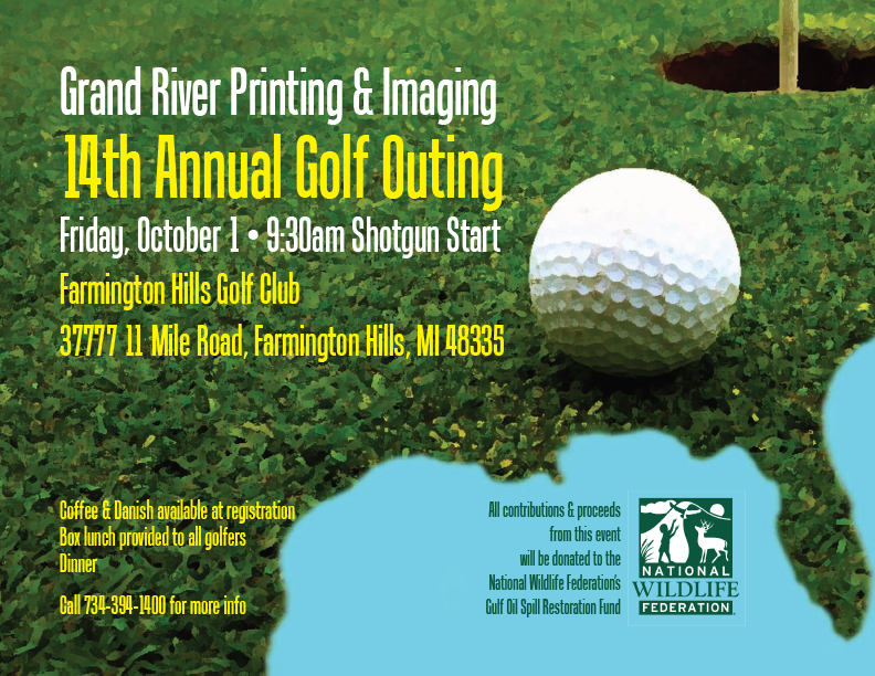Golf Outing Promotion
